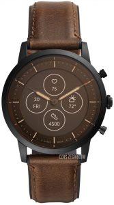 Smartwatch Fossil Collider brązowy